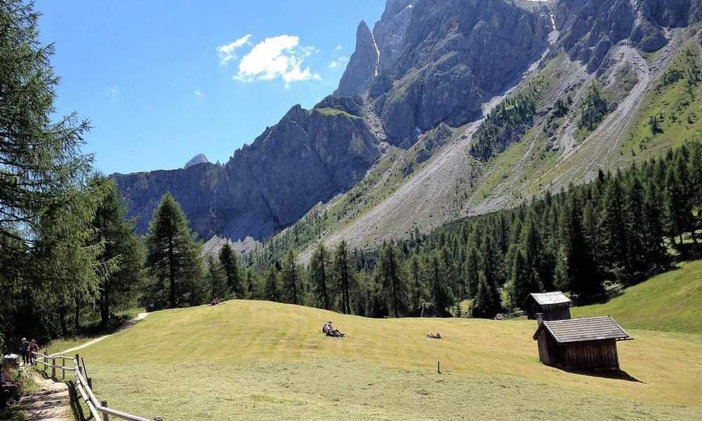 Kraft tanken im Sommerurlaub in Lajen / Südtirol