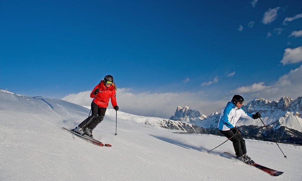 Sciare sulla Plose: Una vacanza sugli sci può essere veramente bella!